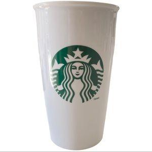Original Starbucks ceramic mug to go white 355ML